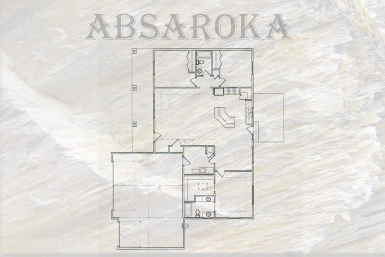 Absaroka Floor Plan