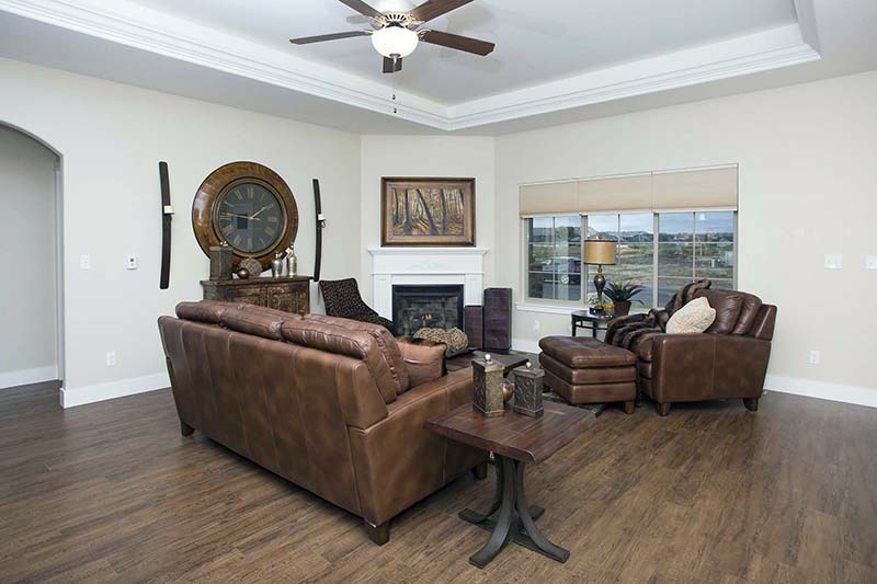 living room - Absaroka Valley