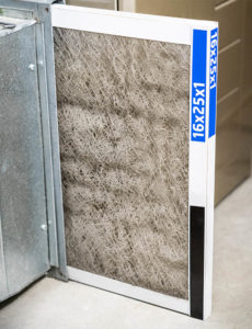 Dirty Furnace Filter 230x300 - Fall means it's time for changing your furnace filters