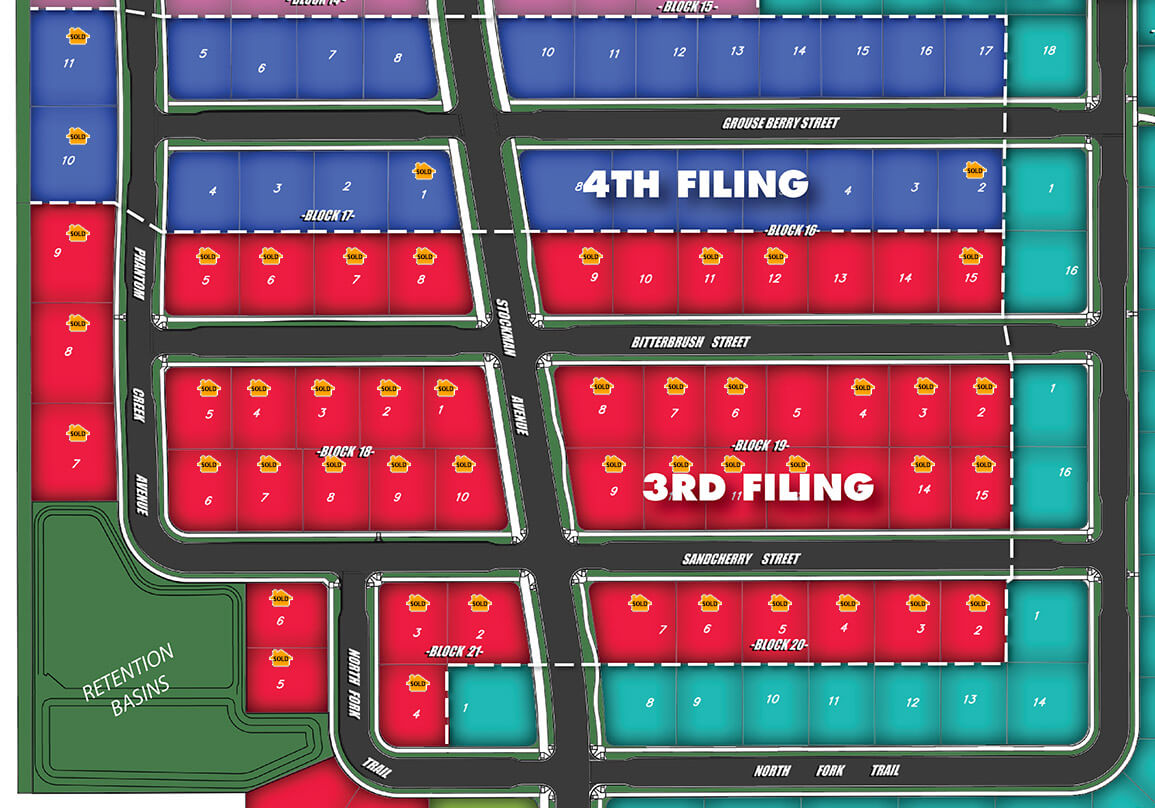 ASold Map - Available Lots